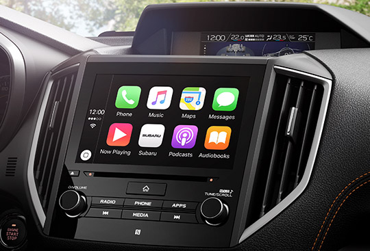 Apple CarPlay*3 and Android Auto™*4