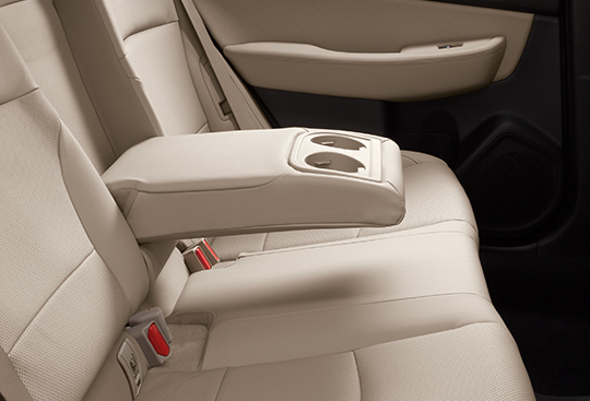 Comfortable Rear Seats