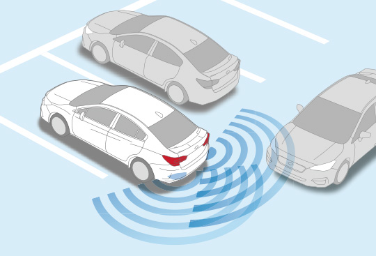 Advanced Safety Package: Subaru Rear Vehicle Detection (SRVD)*