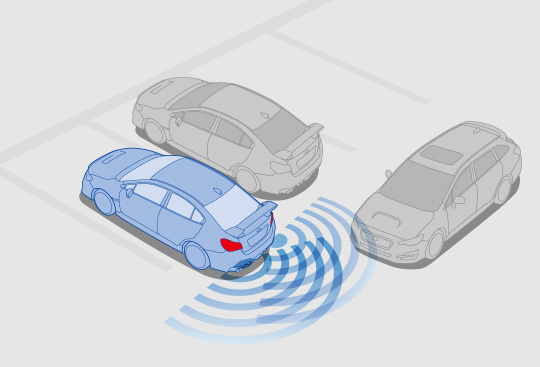 Advanced Safety Package: Subaru Rear Vehicle Detection (SRVD)*1